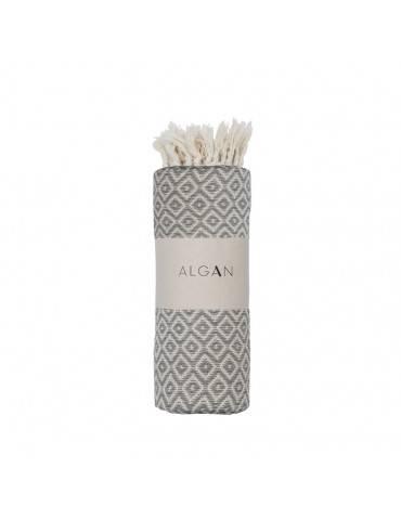 Algan Sumak badehåndklæde Grå