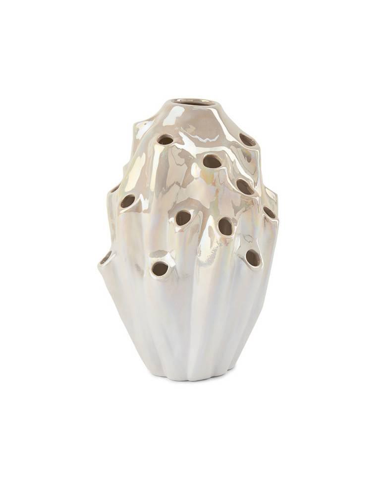 Eden Outcast Lava vase White