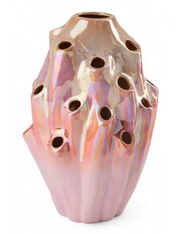 Eden Outcast Lava vase pink
