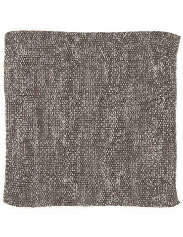 Ib Laursen Mynte karklud strikket brown melange