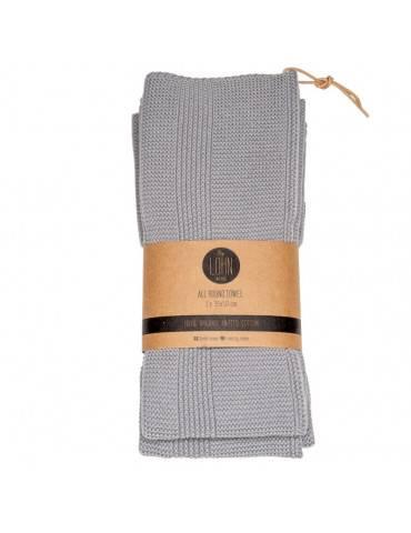 By Lohn All Round Håndklæde Spanish grey 2-pak
