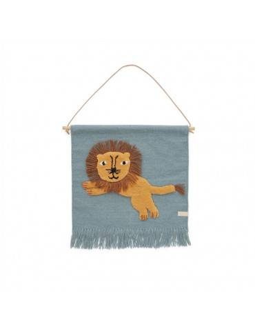 Oyoy Living Design mini Vægdekoration Løve