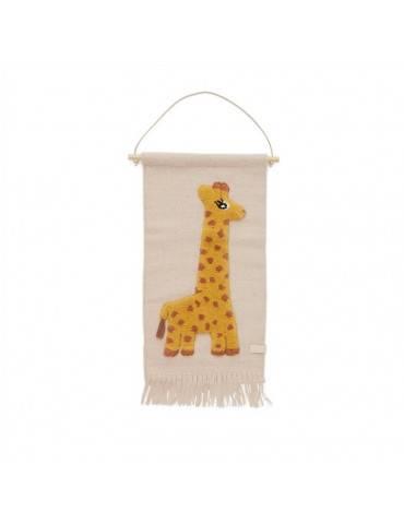 Oyoy Living Design mini vægdekoration giraf