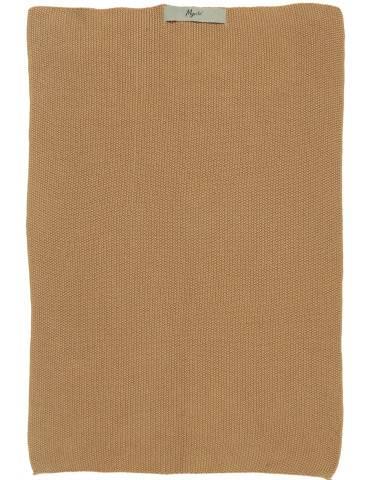 Ib Laursen Mynte håndklæde strikket Amber