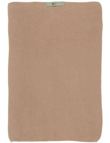 Ib Laursen Mynte håndklæde strikket Faded rose