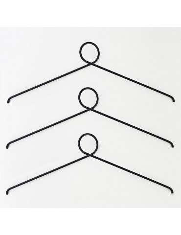 Nordic Function Loop it bøjle sæt af 3 sort
