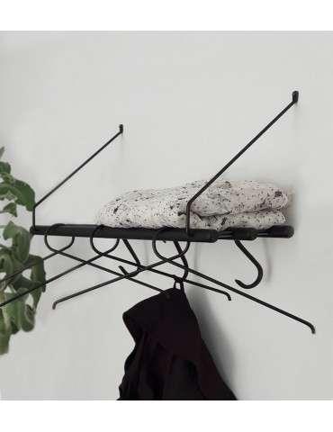 Nordic Function Room4More hattehylde sort og sortbejdset eg miljø