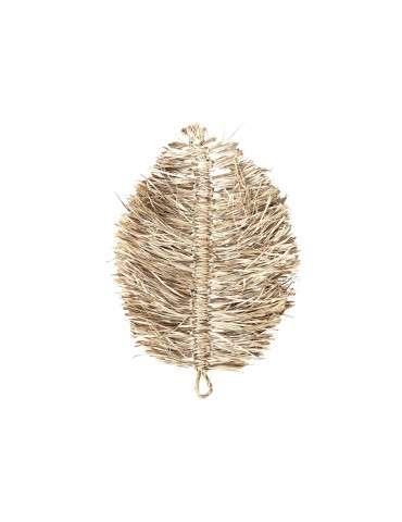 Chic Antique Vægdeko blad søgræs