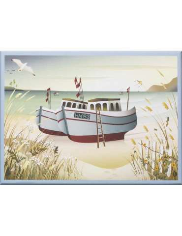 Vissevasse Puslespil Fishing boats 1000
