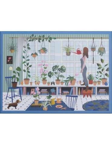 Vissevasse Puslespil Plant lover 1000