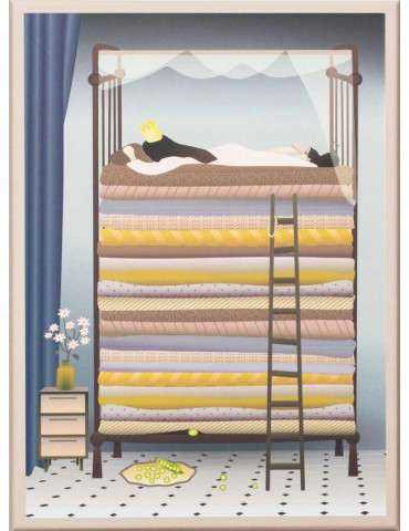 Vissevasse Pusle spil The Princess and the pea 100