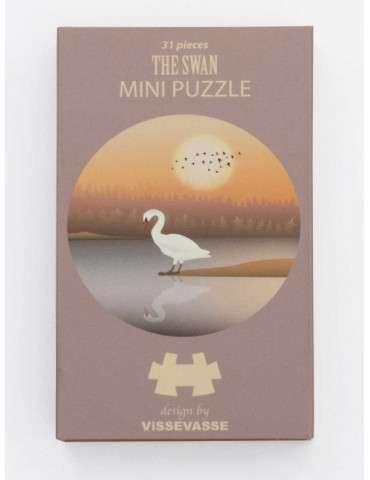 Vissevasse Puslespil The swan mini