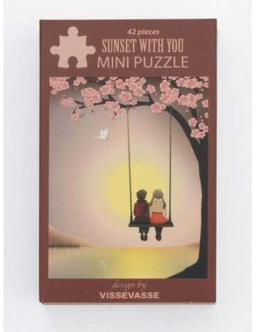 Vissevasse Puslespil Sunset with you mini