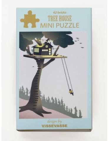Vissevasse Puslespil Treehouse mini