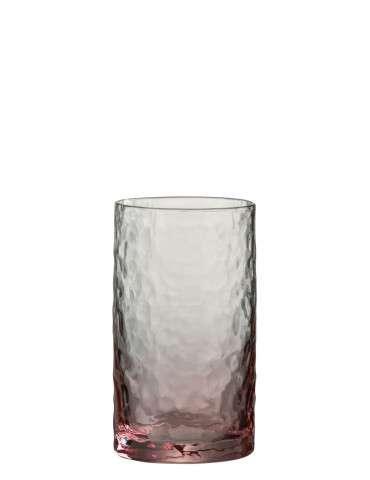 Columbine/J-Line Drikkeglas rosa