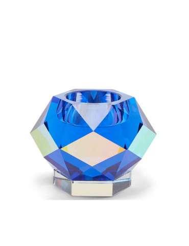 Eden Outcast Glam fyrfadsstage blue