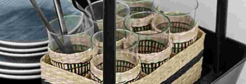 Drikkeglas og vinglas